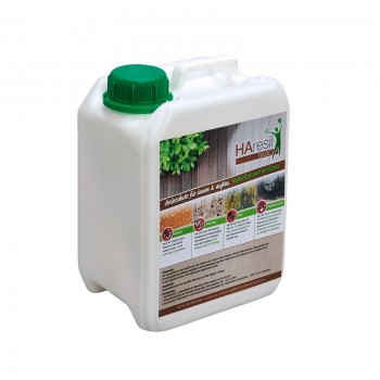 HAresil Basic Holzschutzlasur auf Wasserbasis im 2,5l Kanister Fertigmischung