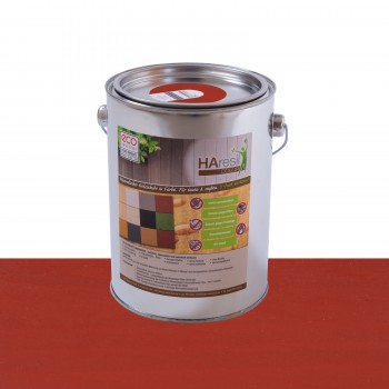 HAresil Color rostrot Holzschutzfarbe Holzschutzlasur schützt vor Holzwurm und Holzschädlinge, Pilzbekämpfung