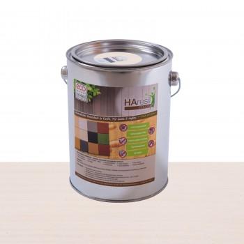 HAresil Color weiß Holzschutzfarbe Holzschutzlasur schützt vor Holzwurm und Holzschädlinge, Pilzbekämpfung 2,0kg