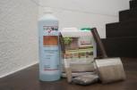 Frühlingserwachen Set mit HAresil Argentum 2,5 Liter, Profi Grundreiniger 1 Liter und 3-teiliges Pinselset
