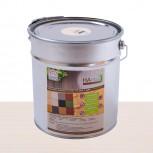HAresil Color weiß Holzschutzfarbe Holzschutzlasur schützt gegen Holzwurm und Holzschädlinge, Pilzbekämpfung 5,0kg